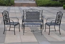 Wrought Iron Patio Chair Modern Outdoor Wrought Iron Patio Furniture With Outdoor Furniture