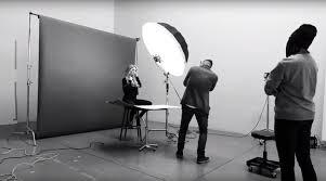 studio lighting equipment for portrait photography strobes vs natural light portraits in a studio setting