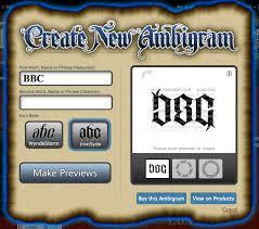 ambigram tattoos generator create your own ambigram designs