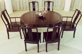 carved oval oriental dining room table set dining room table