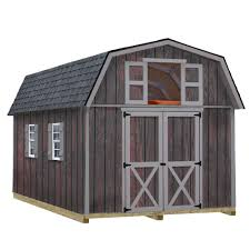 best barns woodville 10 ft x 16 ft wood storage shed kit with