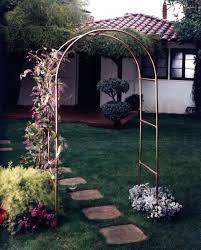 canterbury copper garden arch garden artisans llc