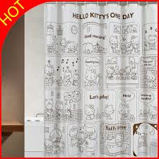 Waterproof Bathroom Window Curtain Modern World Map Polyester Shower Curtain Home Eco Friendly