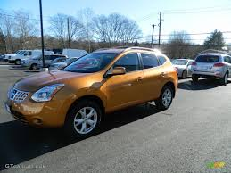 orange nissan rogue 2008 orange alloy metallic nissan rogue sl awd 59860933 photo 4