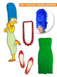 Sweet Fox Halloween Costume Diy Thift Shop Halloween Costumes Marge Simpson Sweet