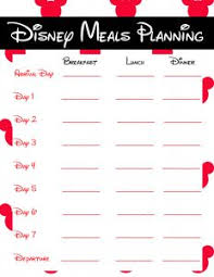 printable disney planning guide disney planning pages printables savvy journey