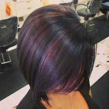 short hairstyles with peekaboo purple layer 64 best plum hair color images on pinterest hair colors braids