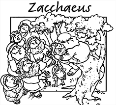 Top Zacchaeus Coloring Page Snapshot Unknown Resolutions High Zacchaeus Coloring Page