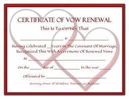 vow renewal program templates sle renewal vows nudlux