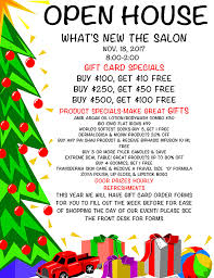 gift card specials home what s new the salon