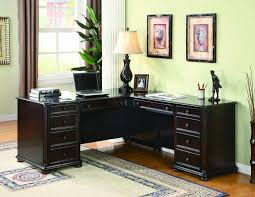 Sauder Traditional L Shaped Desk Black Sauder Traditional L Shaped Desk All About House Design