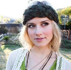 knitted headband pattern braided knit headband patterns a knitting