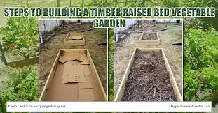 raised garden bed timber indelink com