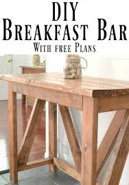 Breakfast Bar Inexpensive Diy Breakfast Bar I Am A Homemaker