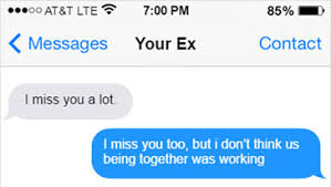 Think Before You Text Your - 20 perfect responses to send when your ex texts you