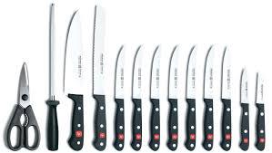 wusthof knife block 7pc gourmet wusthof classic in drawer knife