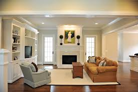 simple craftsman surround and mantel with a nice marble face and