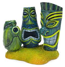tiki aquarium decorations fish aquariums aquarium