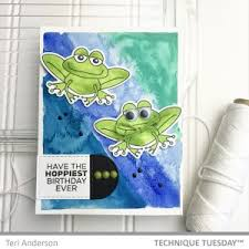 birthday card ideas technique tuesday