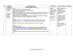 counties of the uk england lesson and worksheet by