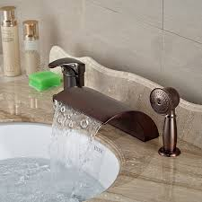 Antique Bronze Bathroom Faucet by Online Get Cheap Roman Tub Faucet Hand Shower Aliexpress Com