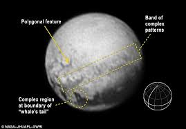 Seeking Planet Series Pluto S Images Show Unexplained Complex Shapes On The