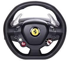 458 italia thrustmaster the thrustmaster 458 italia steering wheel xbox 360 pc