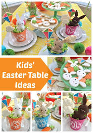 kids easter kids easter table pretty my party