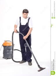 vacuuming floor with machine stock photography image 23799732