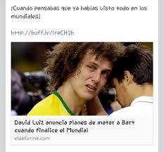 David Luiz Meme - david luiz es bob pati祓o meme subido por elpelucaoficial