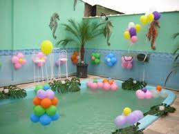 cheap decoration pool decorations