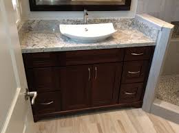 granite bathroom vanity tops vintage countertop kohler vessel