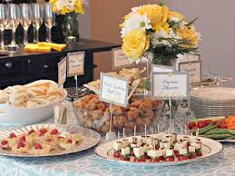 wedding showers bridal shower catering in va md dc washington germain