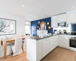 blue kitchen cabinet paint uk what paint color makes your kitchen shine like no other