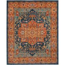 Grey And Orange Area Rug Top Blue And Orange Area Rugs Geometric Rug Moroccan Voodoobash Me