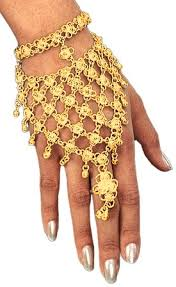 gold hand bracelet images Bollywood princess gold hand jewelry by high quality designs on jpg&a