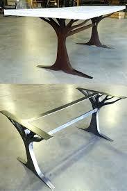 wood top coffee table metal legs coffee table legs metal ed ex me