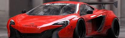 widebody ferrari liberty walk introduces widebody kit for mclaren 650s