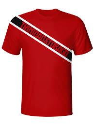 Flag For Trinidad And Tobago Trinidad And Tobago Flag Dri Fit Tshirt U2013 Caribbean Apparel