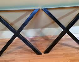 vintage coffee table legs 15 19 tapered steel tube table legs custom table legs