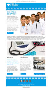 61 free and professional newsletter templates for health care