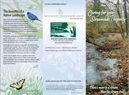 native plants for birds water resource brochures pennsylvania environmental council