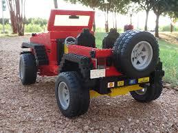 jeep lego lego jeep wrangler like the bumper stickers zombieite flickr