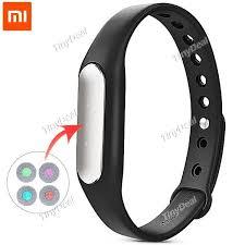 silicone strap bracelet images Xiaomi mi band wristband smart bracelet tinydeal jpg
