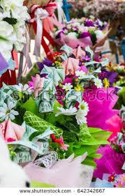 money flowers money bouquet stock images royalty free images vectors