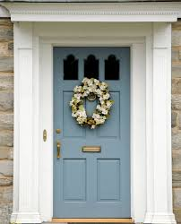 21 cool blue front doors for residential homes colored front