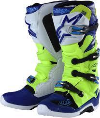 motocross ankle boots alpinestars tld tech 7 boots motocross dirtbike ebay