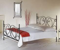 Schlafzimmer In Anthrazit Romantisches Metallbett In Weiß 140x200 Cm San Pedro
