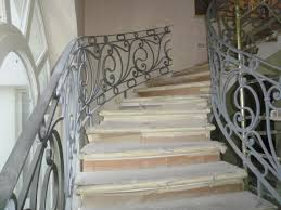 Iron Banisters Wrought Iron Banister Designed And Built By Bottega Del Ferro