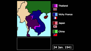 Vichy France Flag Wwii The Franco Thai War 1941 Every Day Youtube